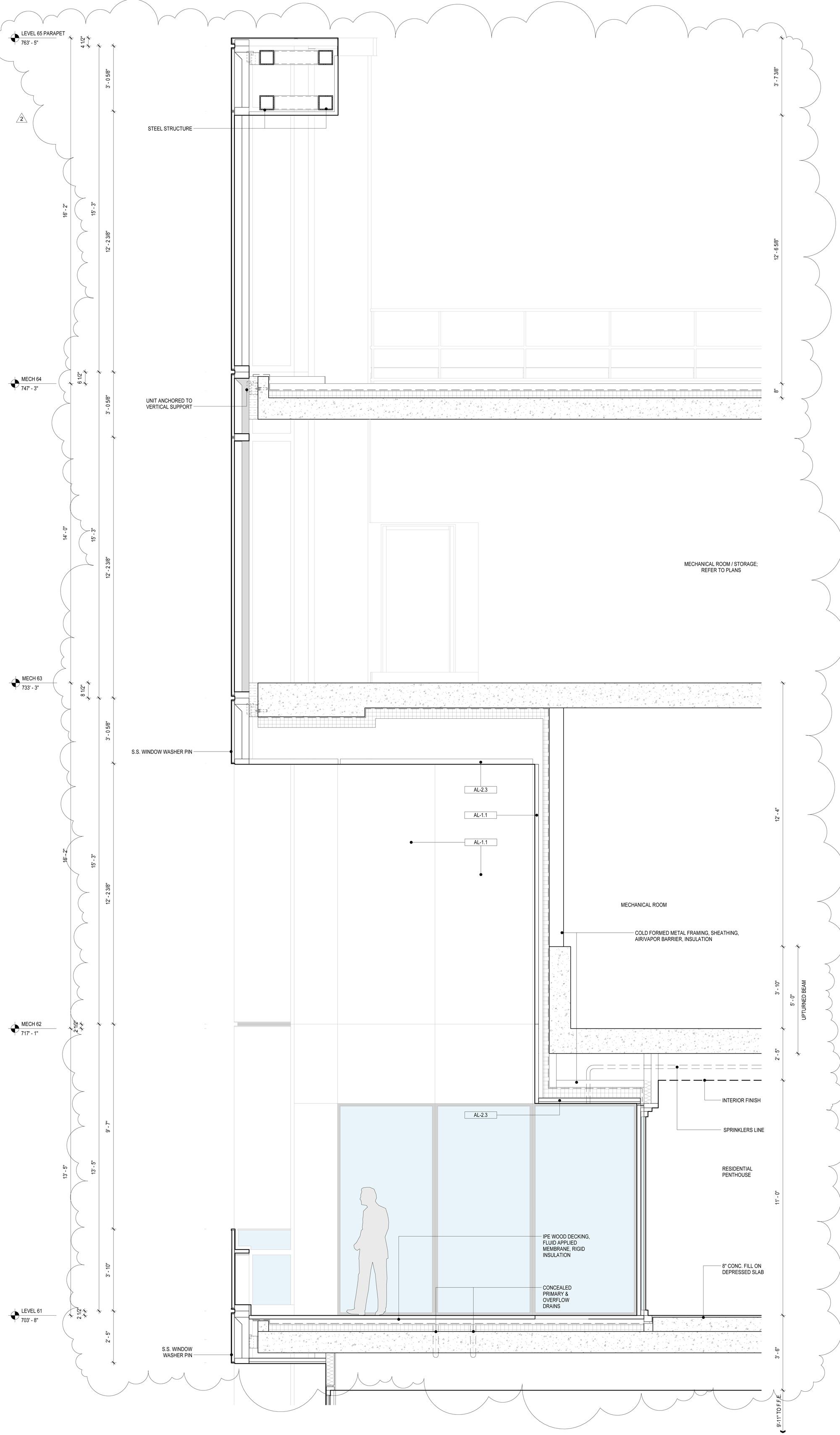 Penthouse Terrace Section