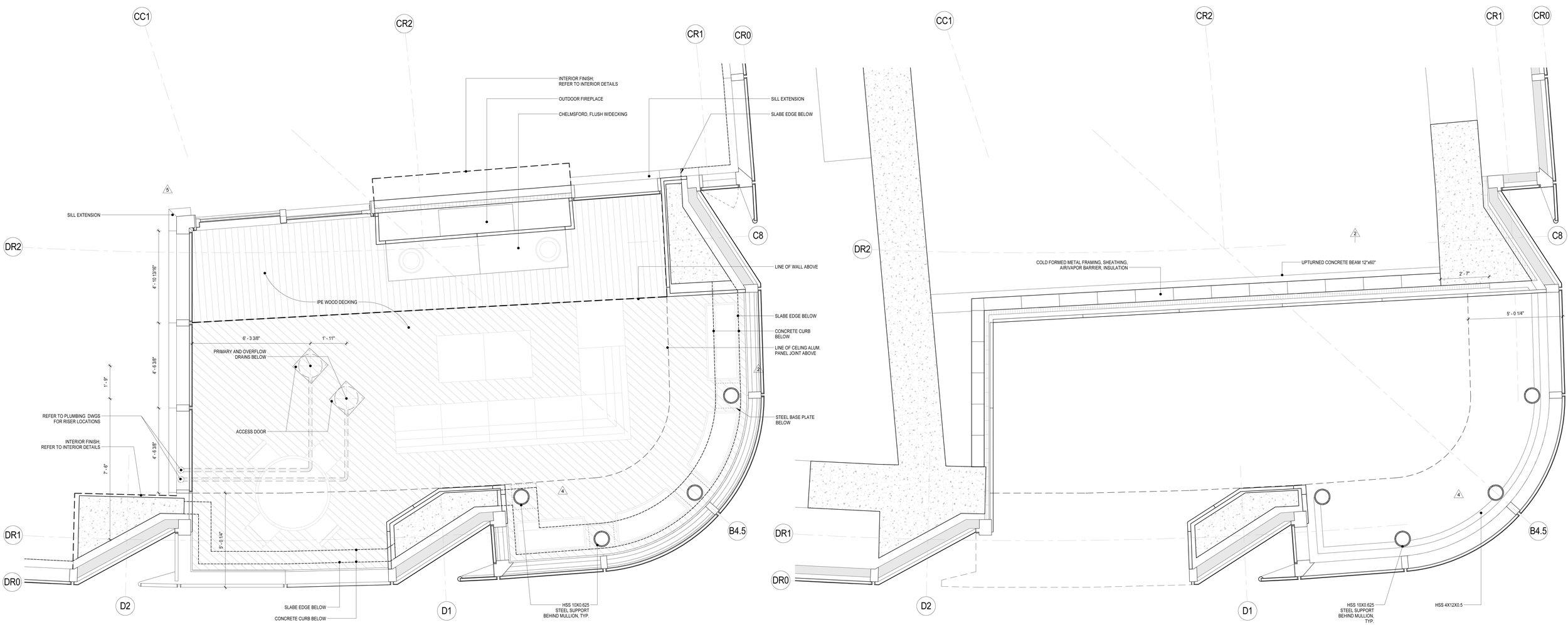 Penthouse Terrace Plans