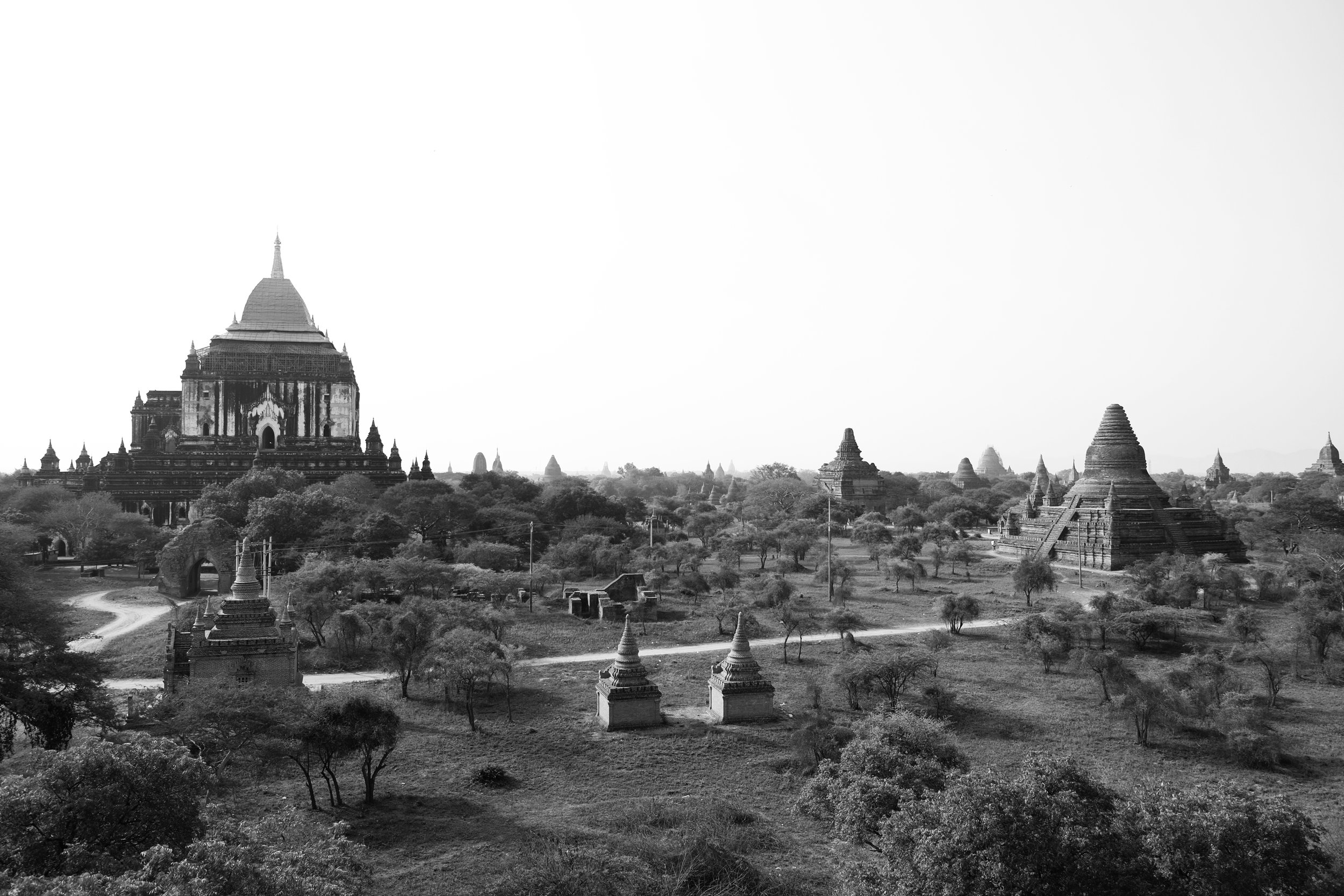 Fields of temples, Bagan