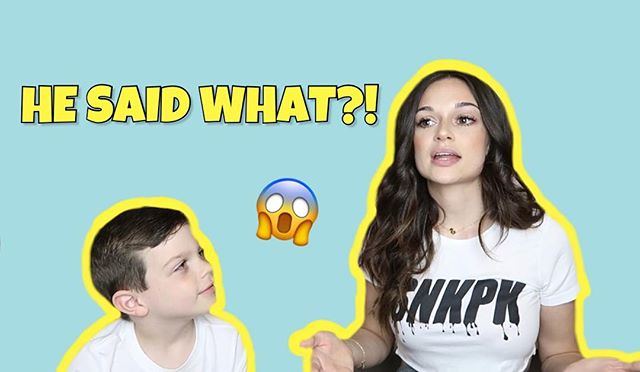 WE'RE LIVE! Click the link in my bio! My special guest is making his @youtube debut with an amazing, funny, REAL Q&A! • Show us some love & support-subscribe, comment, like & share our video!