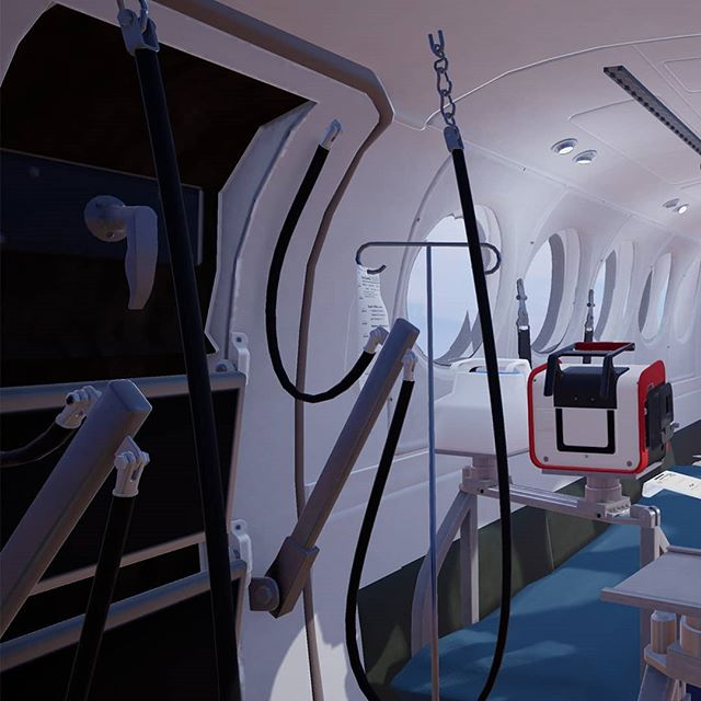 Using @unrealengine, we're building an interactive immersive visualisation of the cabin and equipment in operation with the Royal Flying Doctor Service Queensland Section @royalflyingdoc  This is the interior of the @textronaviation beechcraft kingair B200 C.  We recently completed work on the first of many procedure and familiarisation learning modules for the RFDS Queensland Section and Valley General Hospital  #virtualreality #interactive #immersive #XR #unrealengine4 #learning #medicine
