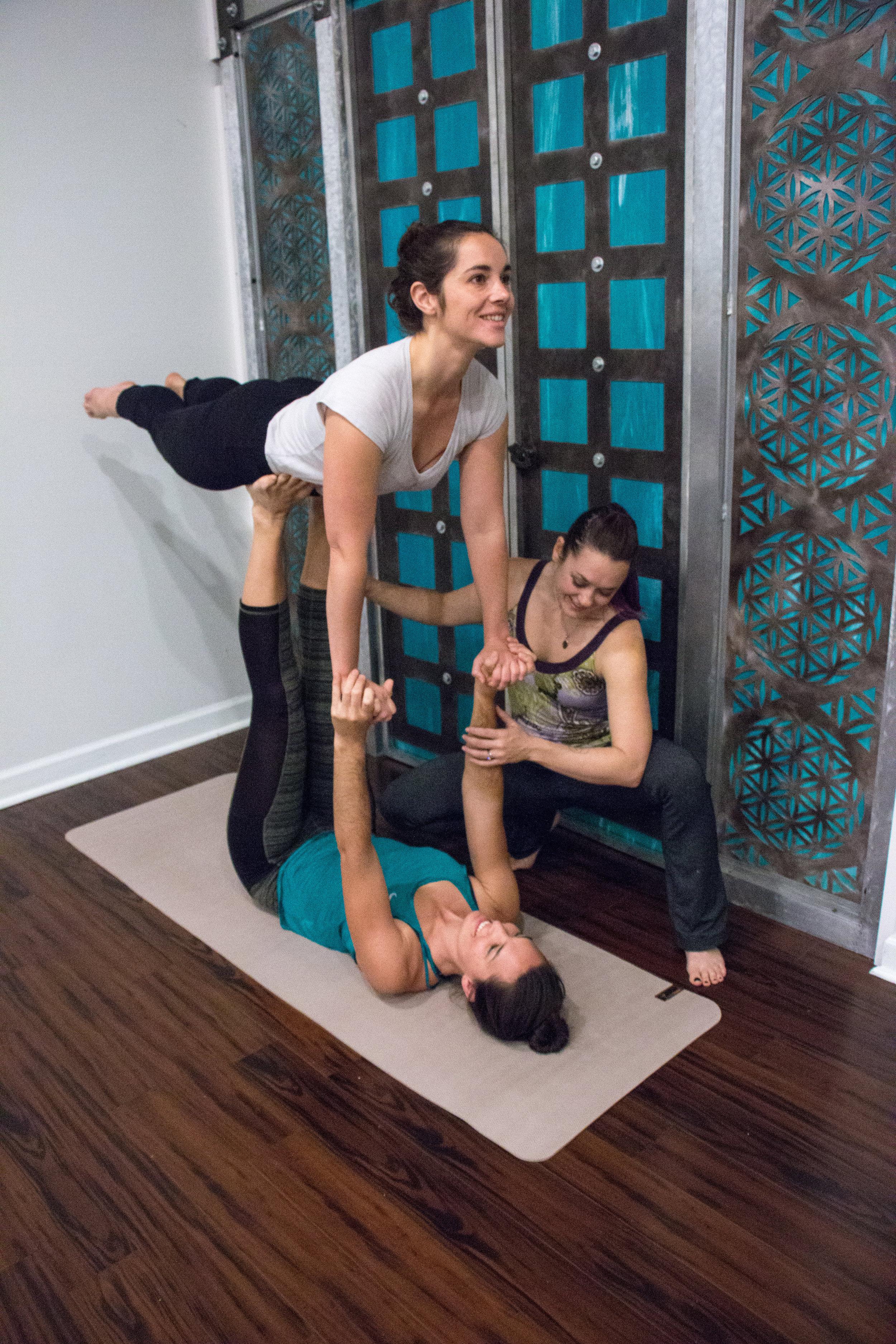 acro yoga- asheville- coach