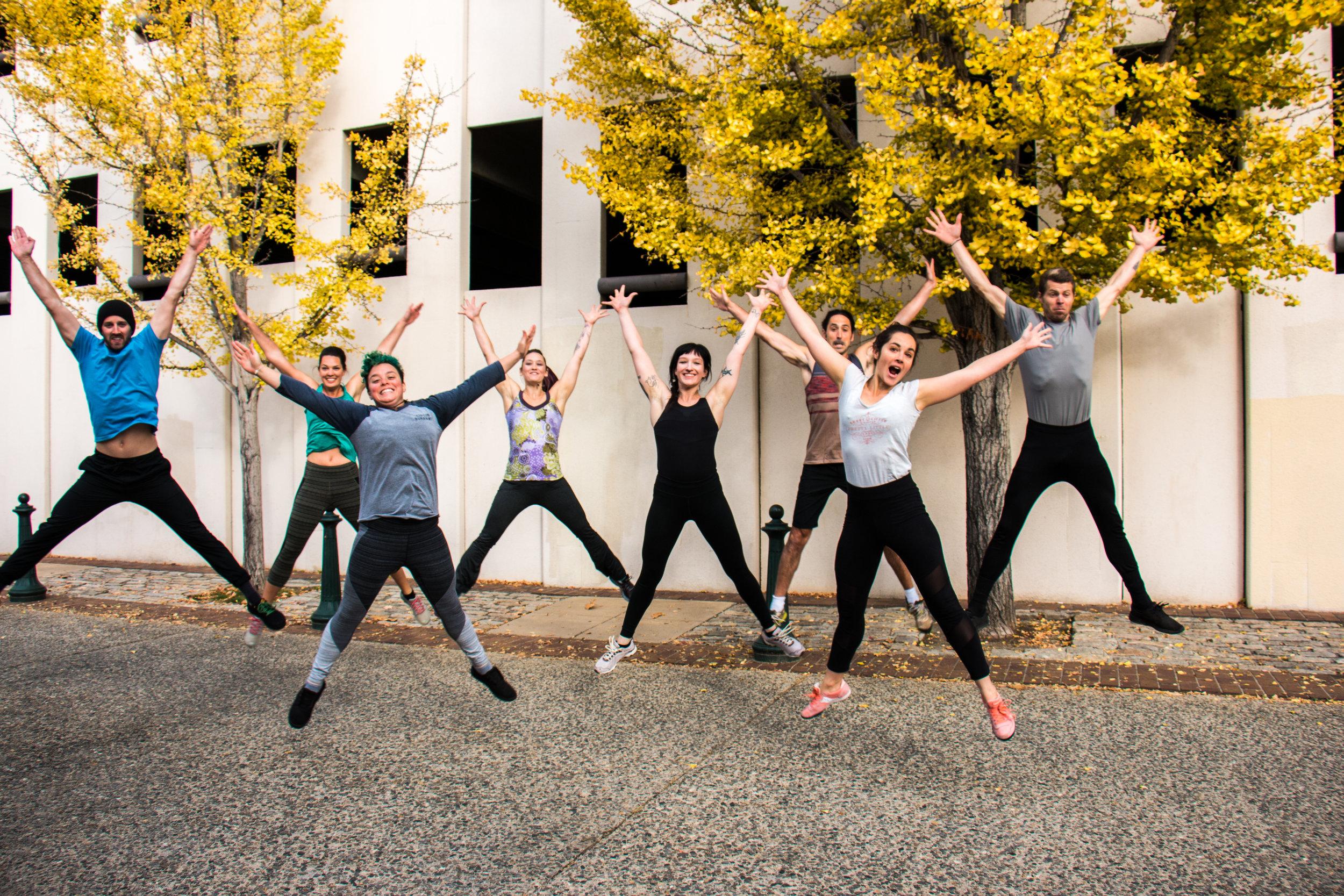 group workout-asheville-training-yoga
