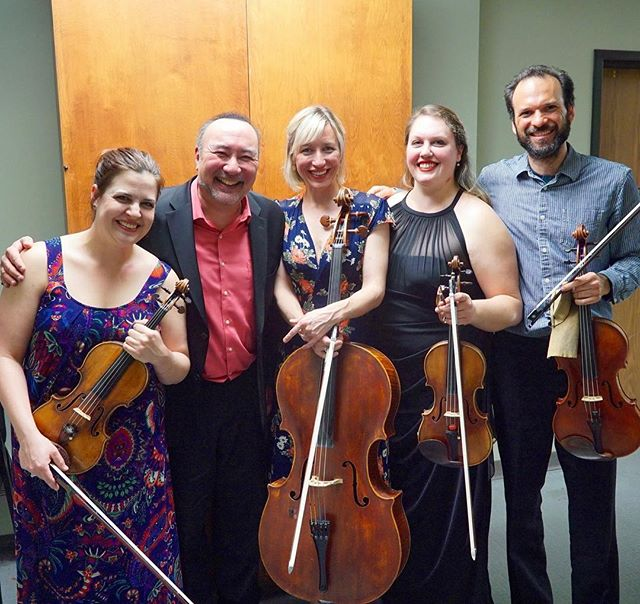 What a thrill!  Brahms quintet done and in the bag - next we reprise this in Ottawa on May 28!