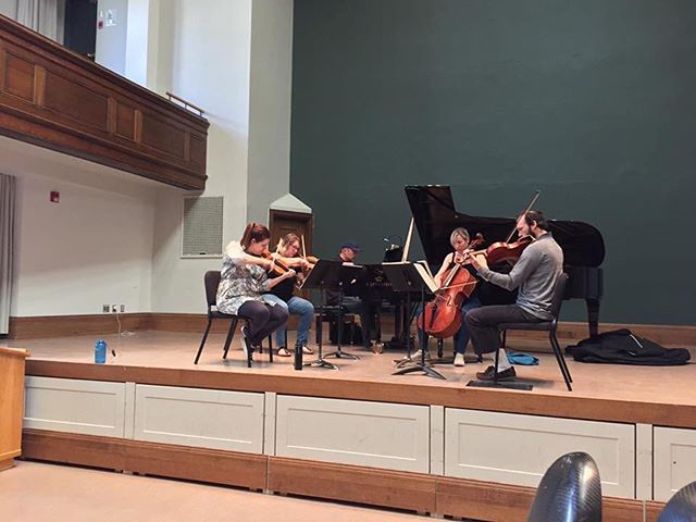 Rehearsing Brahms