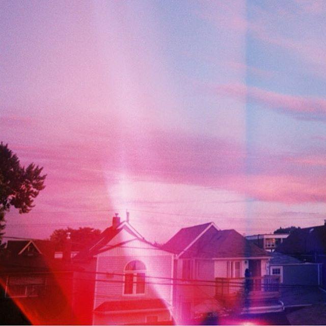 Detail of 'First Sunset From a New Window' by @lauramipsum 🍬 . . . . . . . . . . . . . . . . #35mm #filmcommunity #photographer #photooftheday #analogphotographer #analogphotography #analogfeatures #film #filmisnotdead #lightleak #istillshootfilm #zine #photozine #solecism #canzineTO
