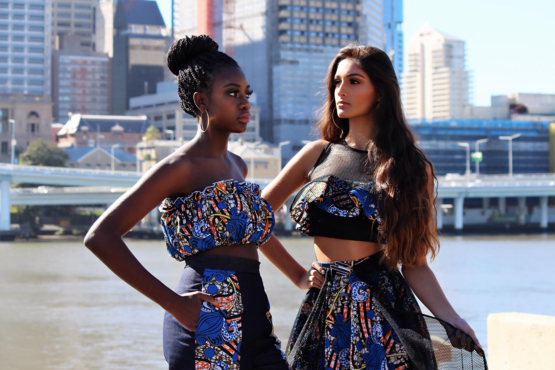 BOLD  Photographer - Aqua Angel Productions  Talent - Alice Ingabire | Monisha Raj  Hair & Make Up - Sarah Wenck  Styling - Style Ministry  Jewellery - Stylist's own | Outfits - Jidite