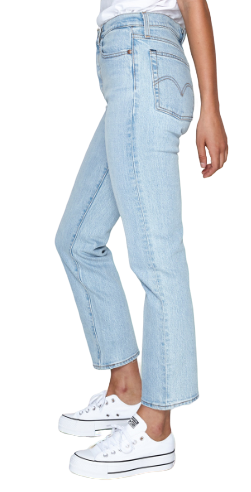 LEVIS WEDGIE STRAIGHT DIBS BLUE