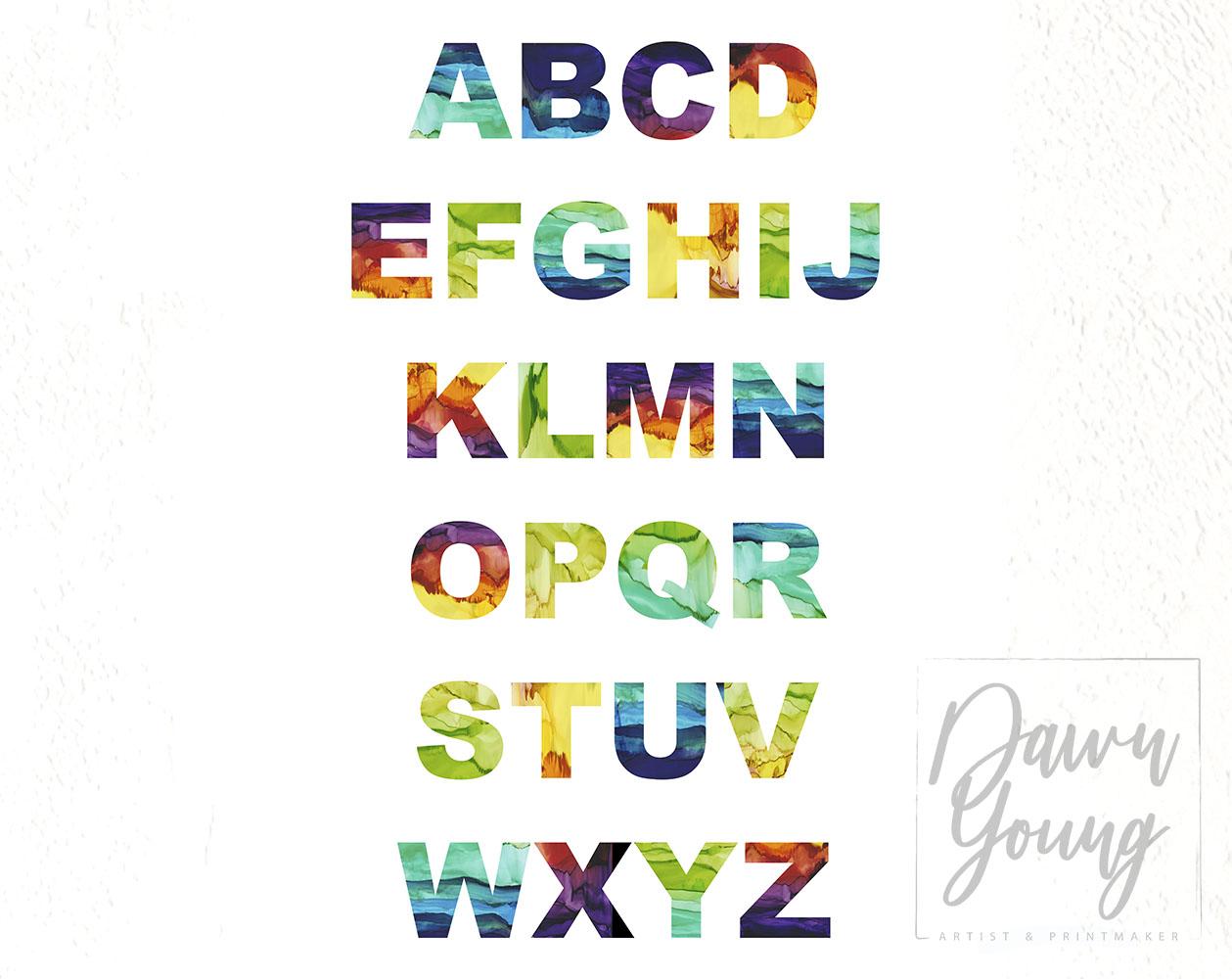 Euphoria Typography print