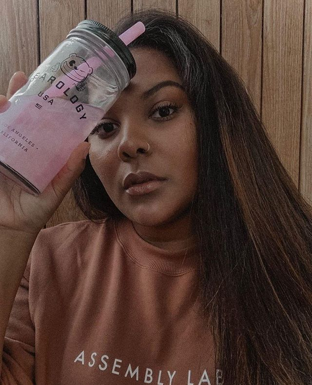 ✨ WHAT COLOR IS YOUR AURA? ✨ ❊⁠ @Yourlittlewildchild is eminating real self-love with the #Pink #Aura of our #Shimmering #PinkLemonade. 💖 Thank you for sharing you're good vibes with us. ✨ ❊⁠