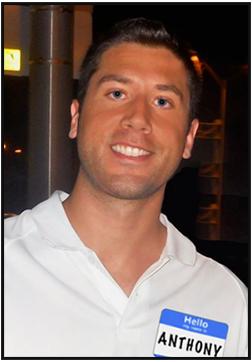 Photo of Anthony smiling