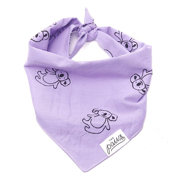 Our new 'Lavender Aussie' bandana for all our friends down under! . . #bali #balidog #dogsofsydney #dogsofmelbourne #dogsofperth #dogsofadelaide #dogsoftasmania #dogsofbyronbay #dogsofbrisbane #dogsofgoldcoast #pupfashion #dailywoof #dailybark #dogsdownunder #rescuedog #rescuedog #adoptdontshop