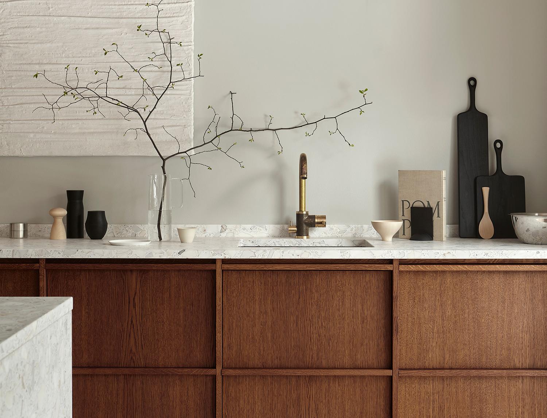 Wooden kitchens -