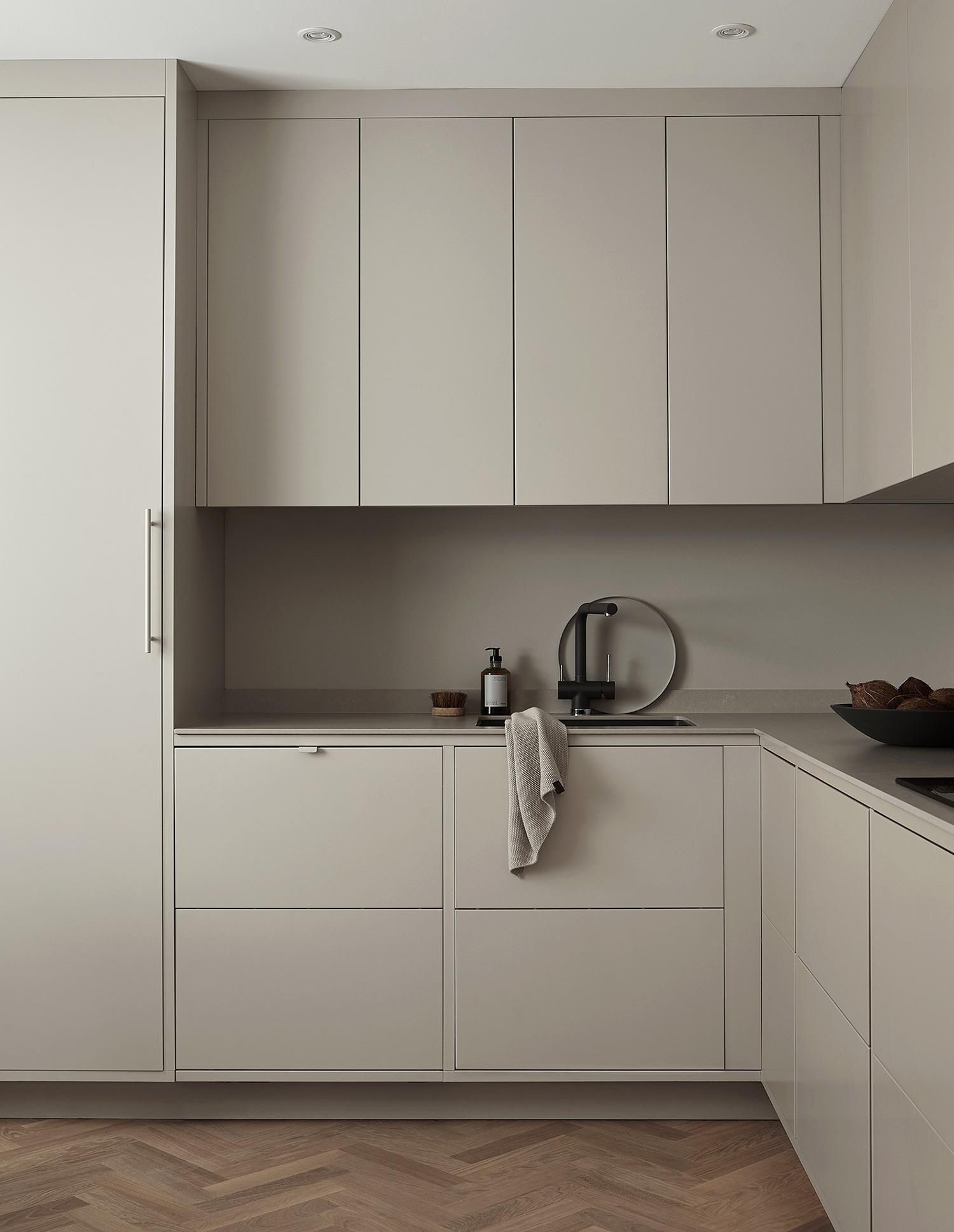 In frame kitchens -
