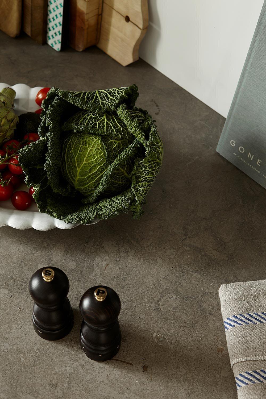 Limestone countertop for Johanna Bradford