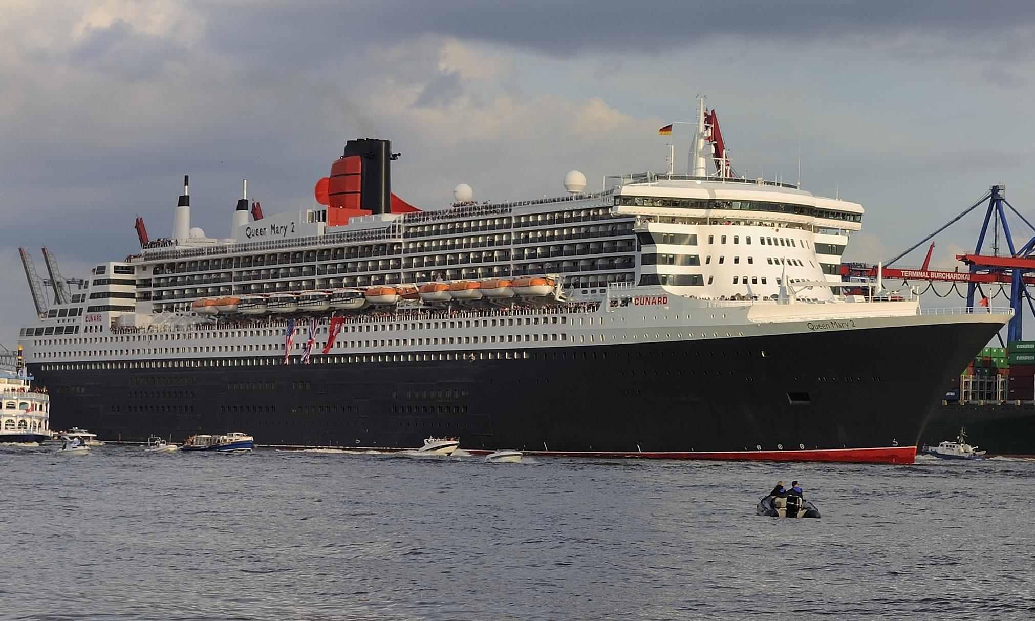 Queen Mary 2 - Kreuzliner
