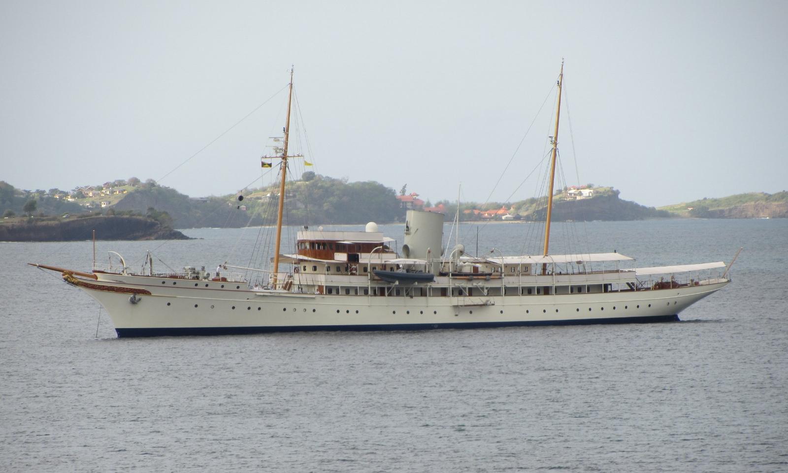 Nahlin - Steam-Yacht