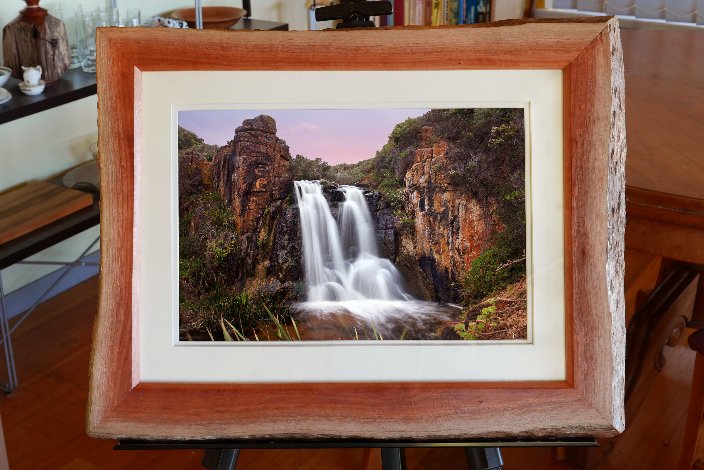 Annie-Bowerman-&-Al-Purdon-QUINNINUP-FALLS-Print-In-Karri -600mmx400mm.jpg