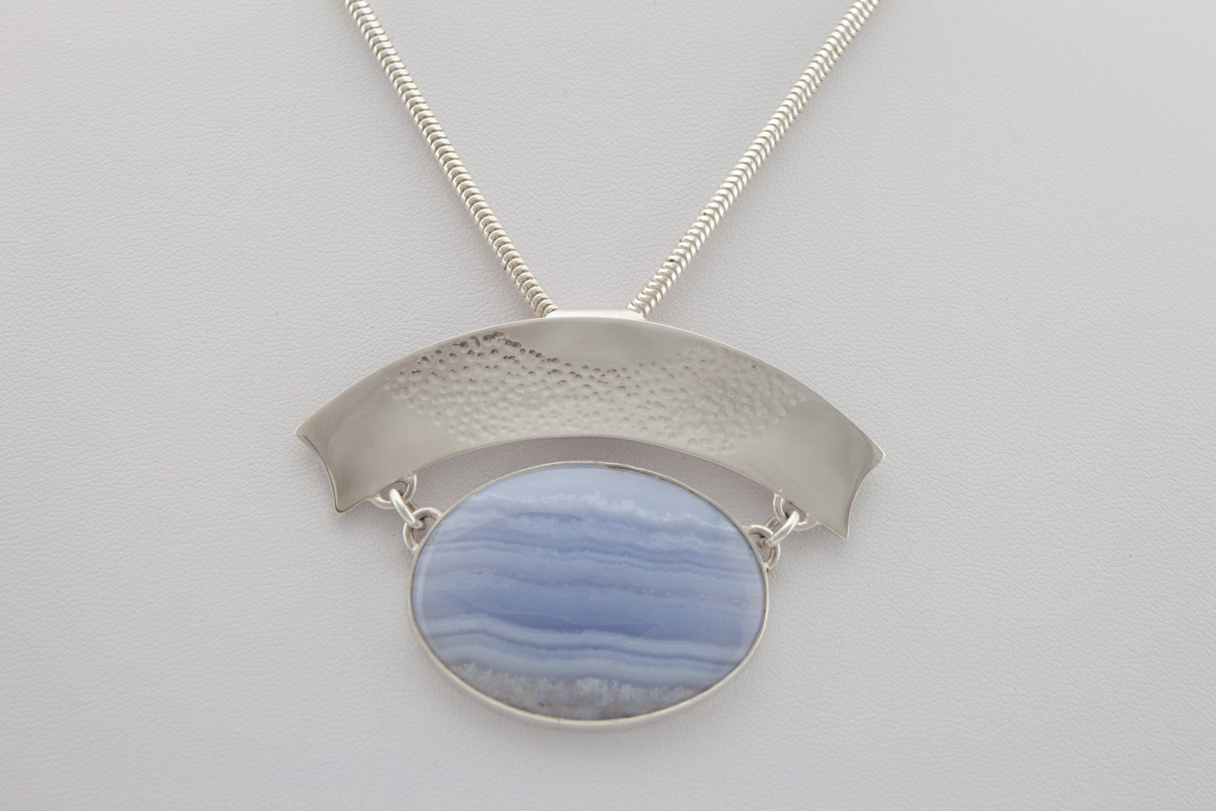 Valma Rhodes _Cloud Form_2018_Sterling Silver and Blue Lace Agate_7cmx5cm.jpg