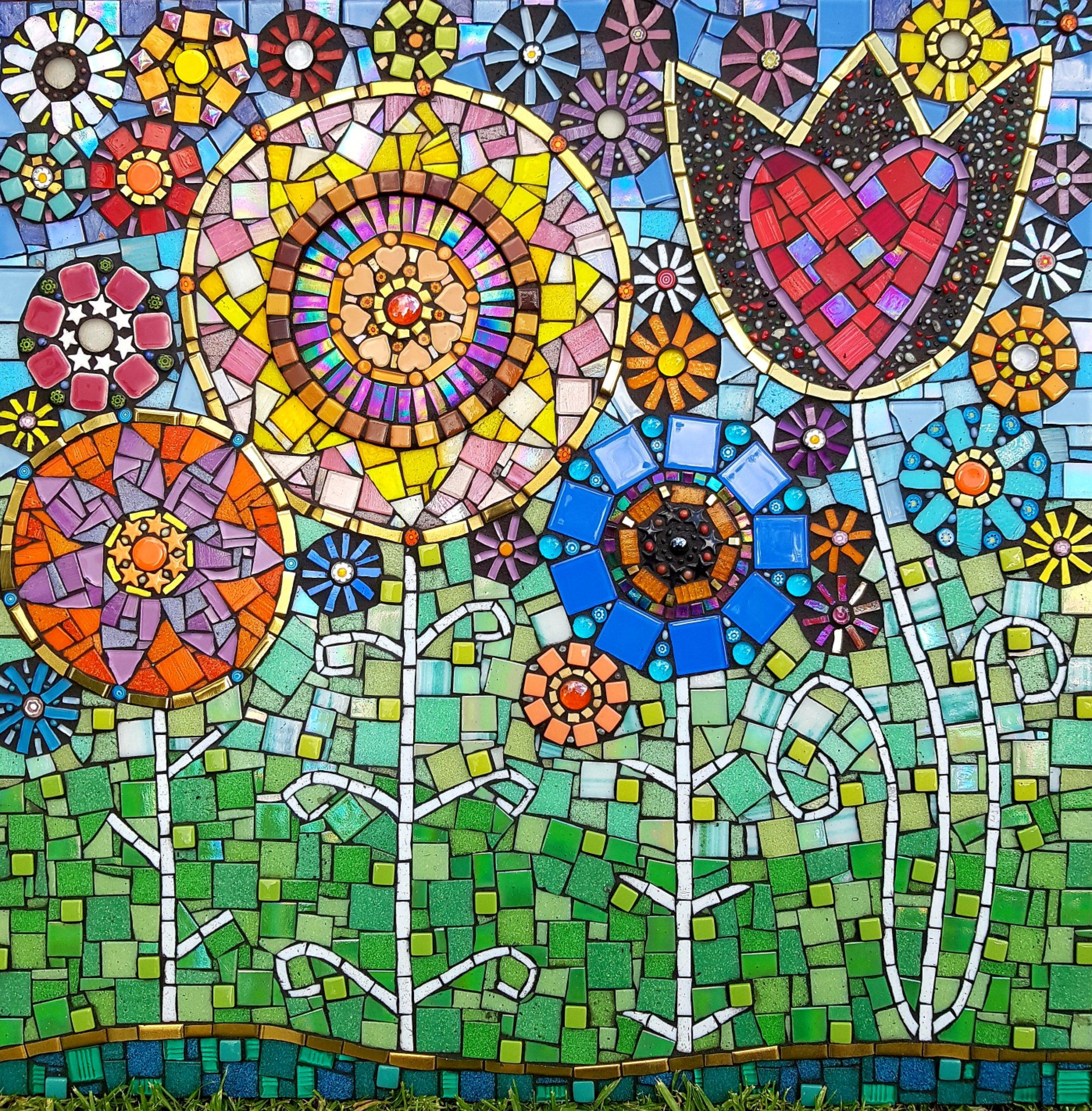 joanna alferink_2018_spring garden_mixed media on tilebacker board_60x60cm.jpg