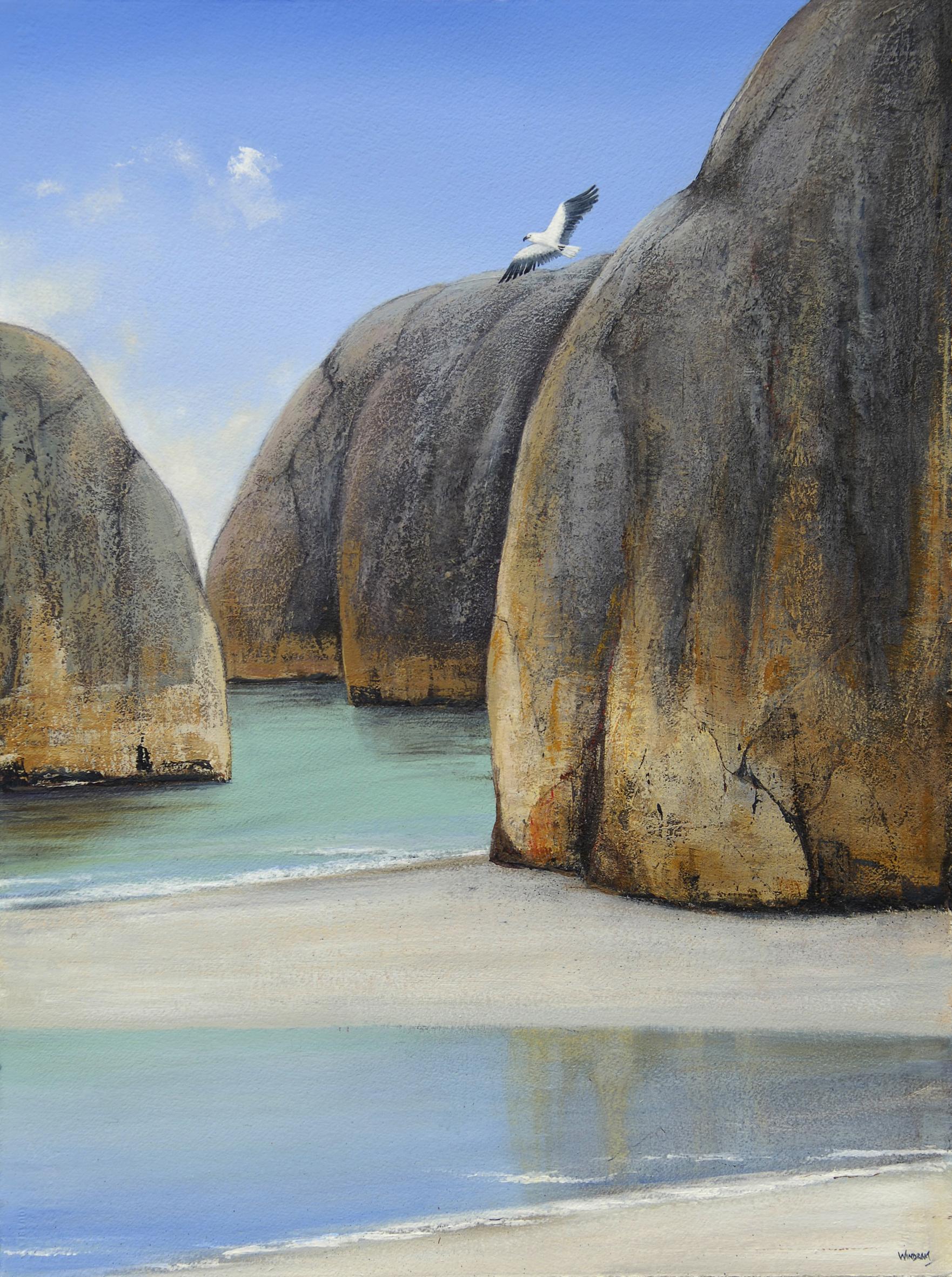 Ingrid Windram_Elephant Rocks_Acrylic_Paper_56cm w x 76cm h_2016.jpg