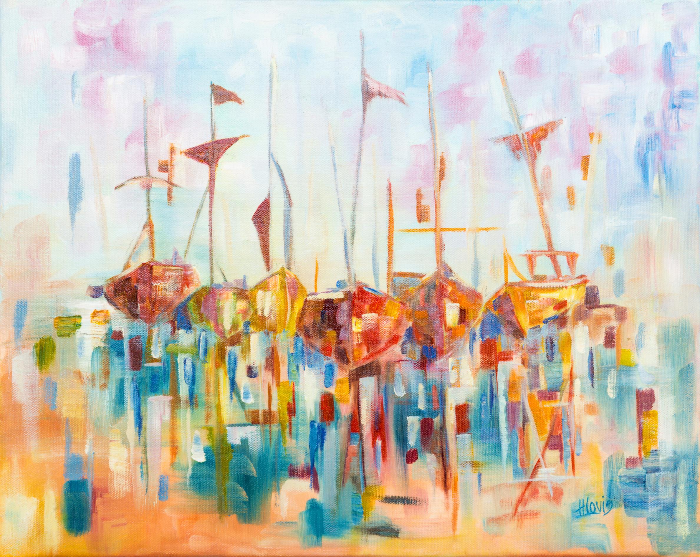 Honor Denby_Sailing_Oil on Canvas_60x45cm.jpg