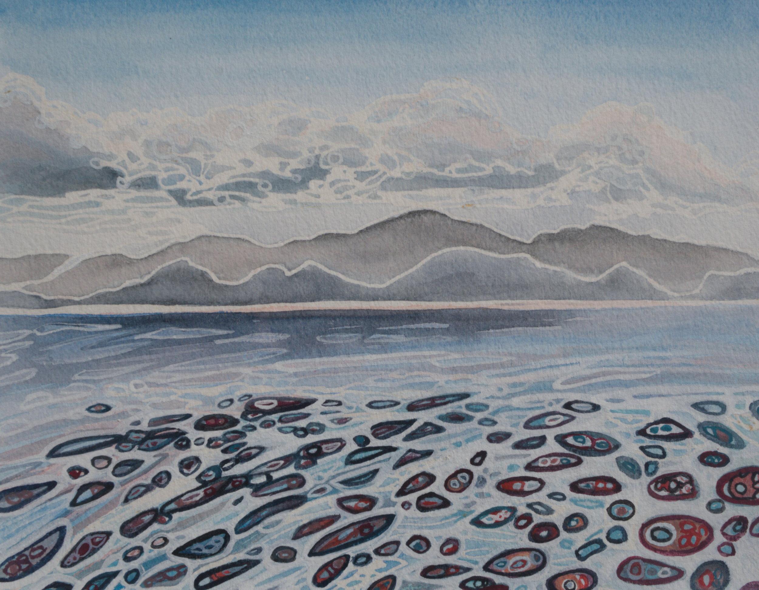 Deanne Haddow_Lembongan Villa View_2018_Watercolour and Gouache on paper_30x38cm.jpg