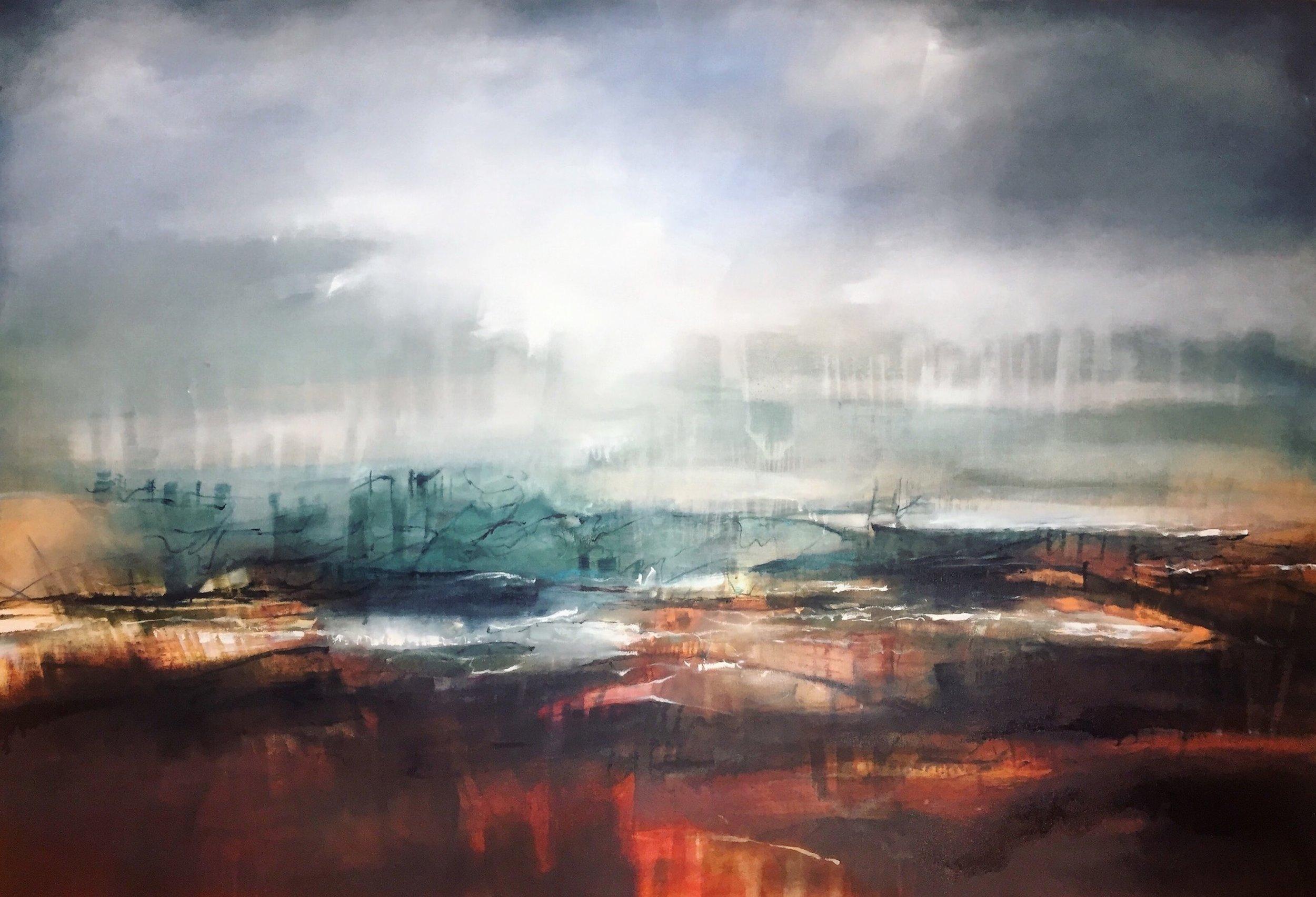 Alice Linford Forte, Worlds Away, 2018, oil on canvas, 123x178cm.jpg