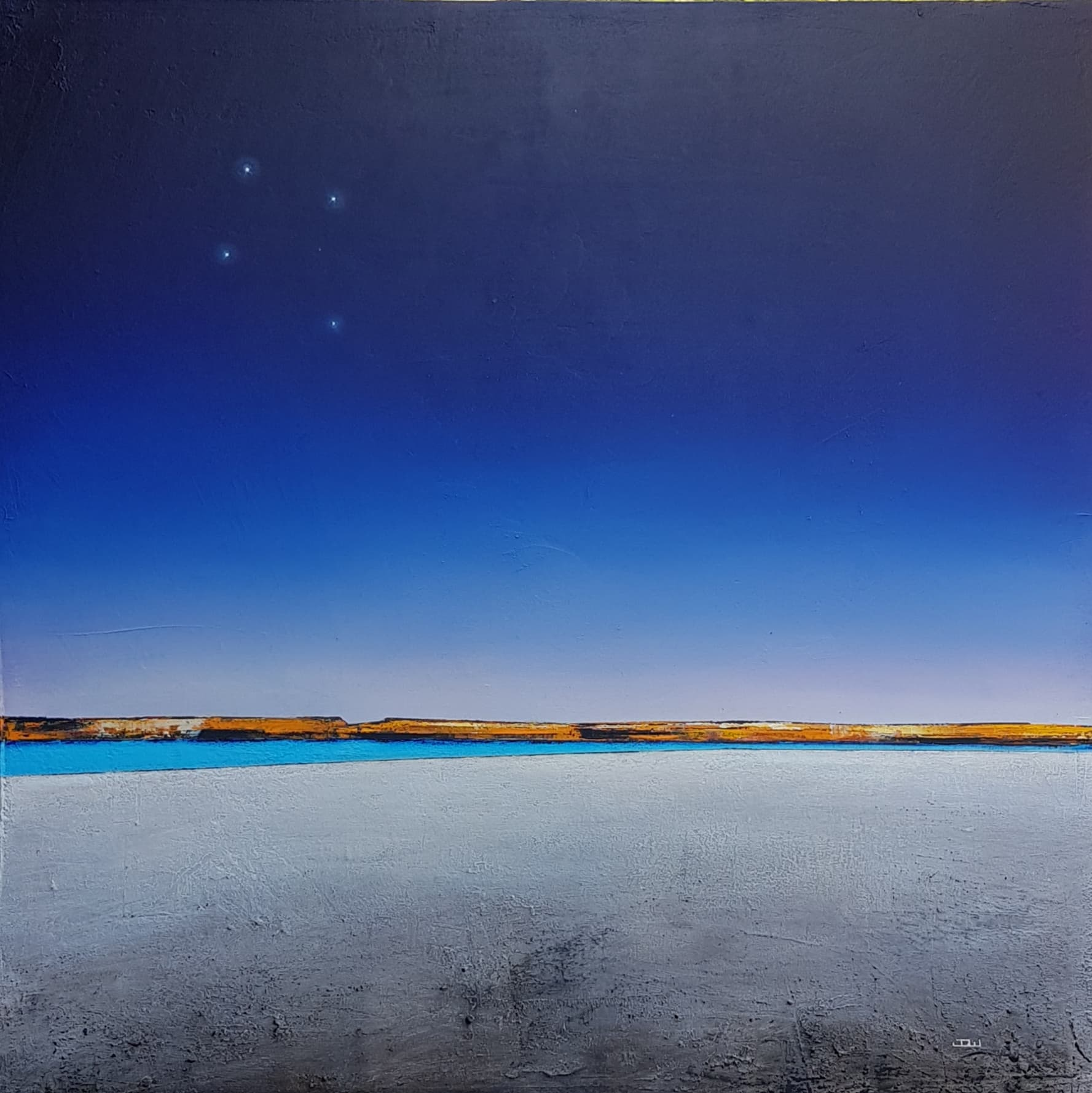 Josh Windram_Across The Universe_2019_Acrylic on canvas_90x90cm.jpg