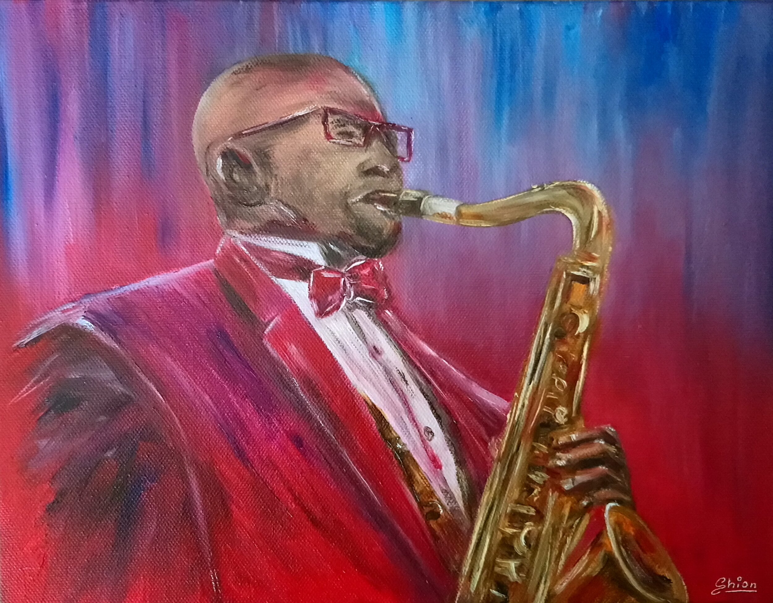 4. Silvia Busetto_Soulful Sax_2019_Oil on canvas_25x30cm.jpg