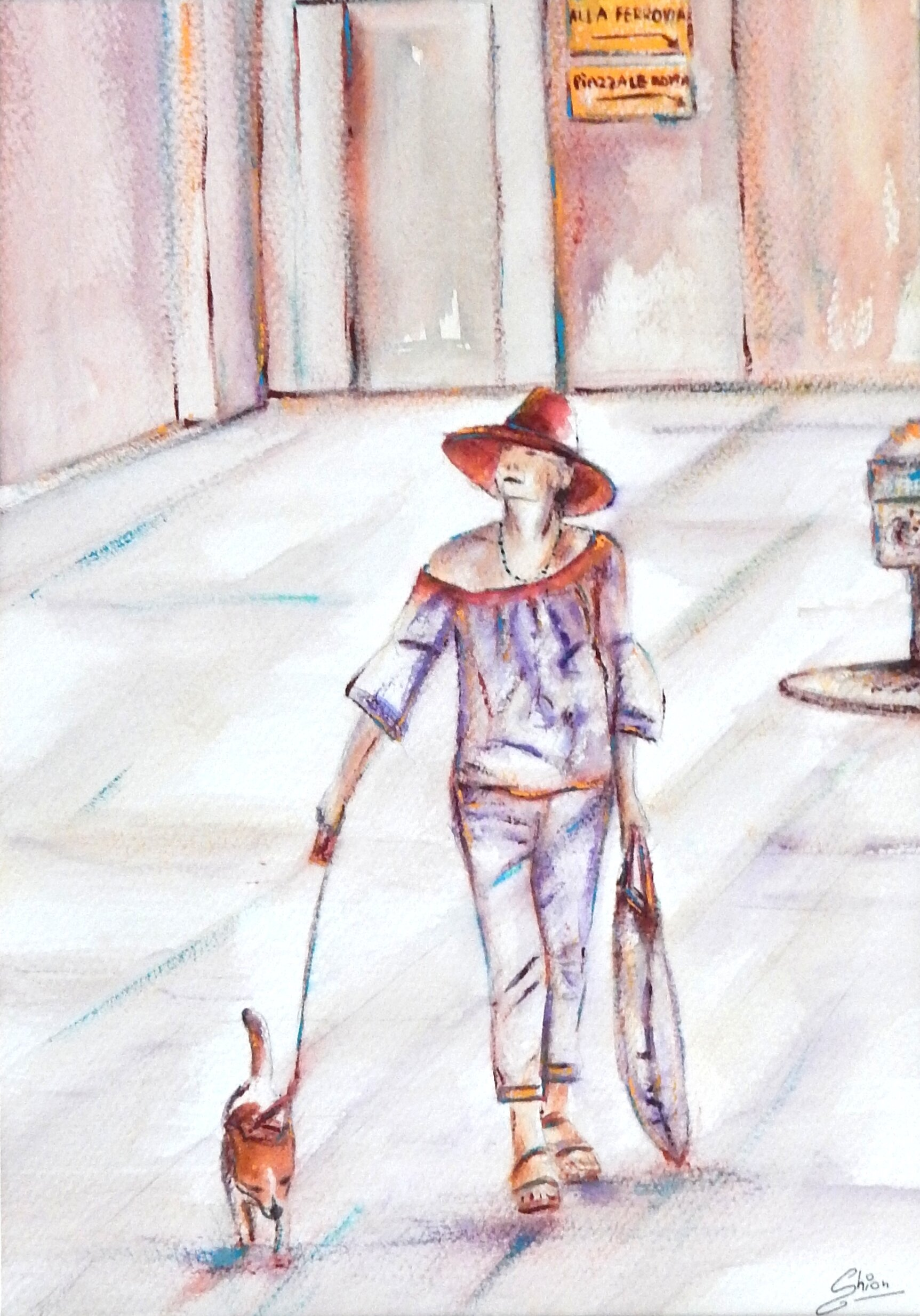 5. Silvia Busetto_A walk in Venice_ 2018_Watercolour_29x20.5 cm.jpg