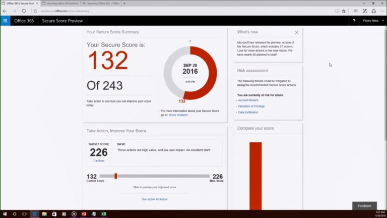 Office 365 Beveiligings Assessment ten behoeve van de NEN 7510