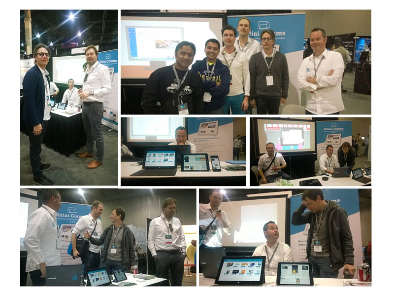 Het Rapid Circle Team op de Sharepoint Conference in Las Vegas