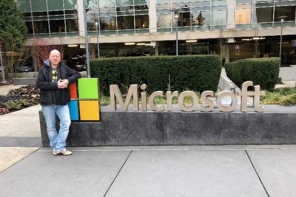 Michel de Rooij, Office Servers and Services MVP @ Microsoft HQ in Redmond, Washington