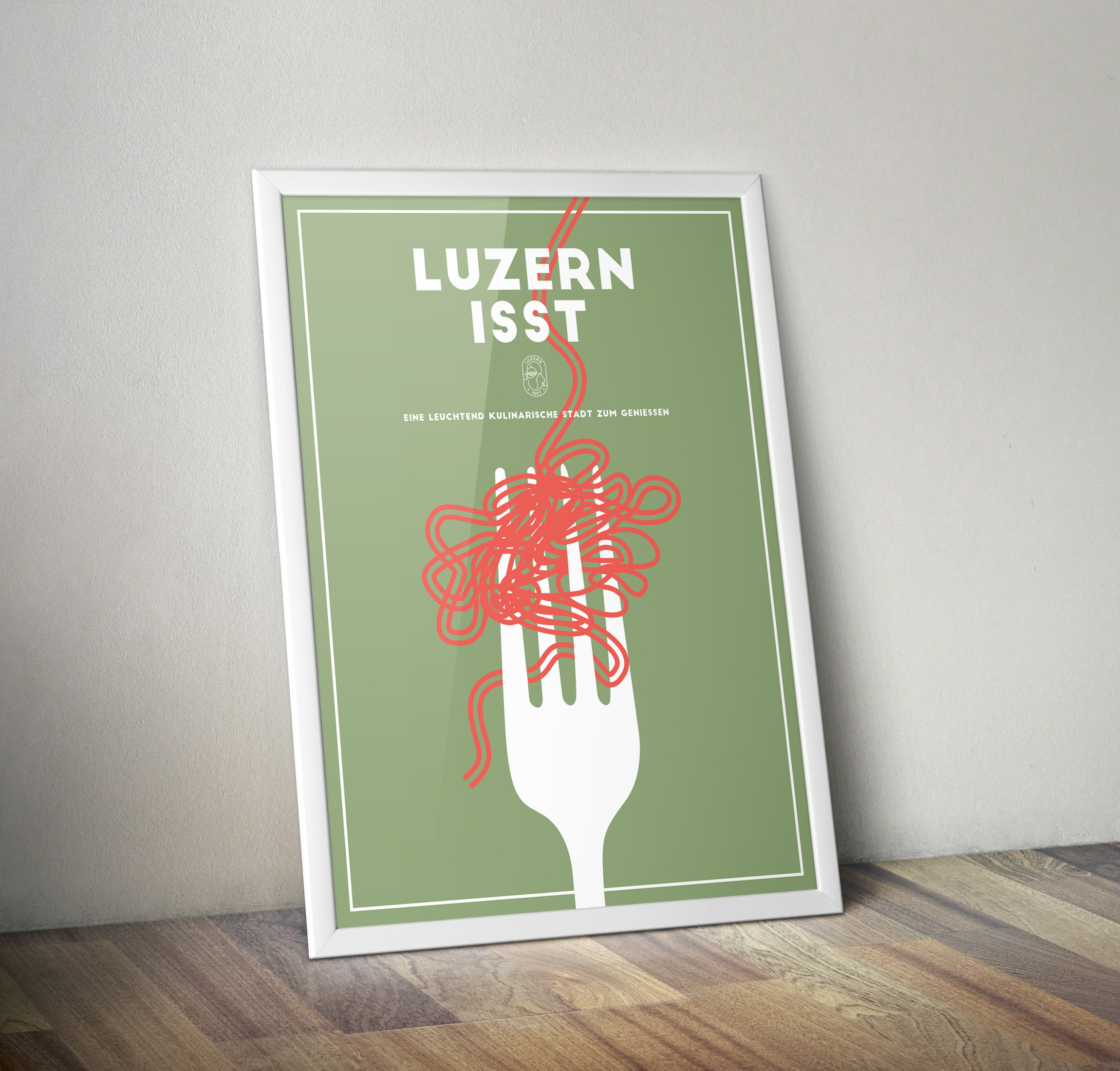 Luzern isst - Poster