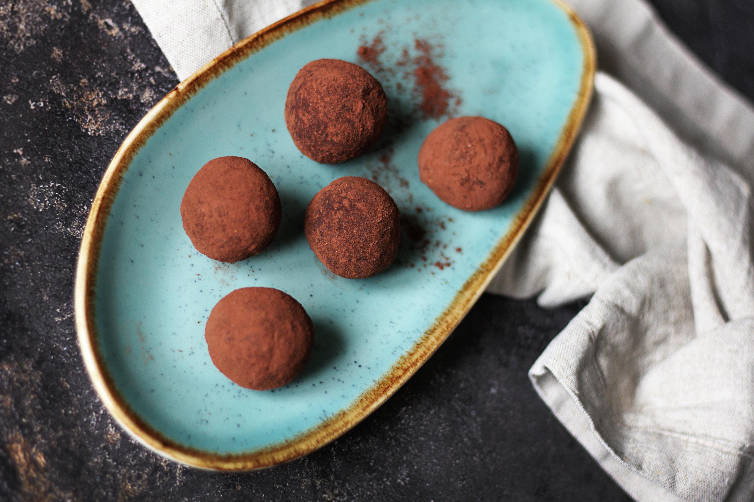 Luzern isst - Schokoladen Energy Balls