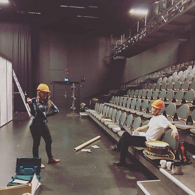 Så er vi igang igen!! PREMIÄR 26 SEPTEMBER PÅ @inkonst I MALMÖ!! #kärakristinejensen #buildingstuff #preparing #rehearsaltime