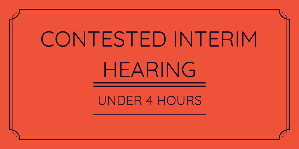 $1,100 - 1. Looking over instructions & Court material*2. 30-minute telephone call with Agent the day prior/of court to clarify any issues3. Attendance at Court (up to 6 hours) – including all telephone attendances with Agent to seek any further instructions if necessary and preparing any Minutes of Consent on anything that can be agreed upon/settled4. 30-minute telephone call with Agent after event to relay outcome5. Email confirming outcome and providing any feedback