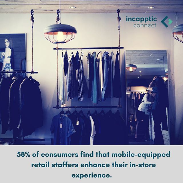 We are one week away from one of the largest shopping days in the world, so let's talk about mobility and retail! According to IBM Mobile Business Insights, 58% of consumers find that mobile-equipped retail staffers enhance the in-store experience. Many brick and mortar retailers are turning to mobile solutions to upgrade processes including checkout, inventory management and employee scheduling. ⠀ .⠀ .⠀ .⠀ #blackfriday #holidayshopping #retail #retailtrends #enterpriseapps #enterprisemobility #mobilefirst #mobiledevelopment #software #softwarecompany #softwaresolutions #softwareengineering #mobility #technology #tech #innovation #devops #appdesign #startup #startuplife #berlinstartups #germanstartups #berlintech #germantech #business #b2b