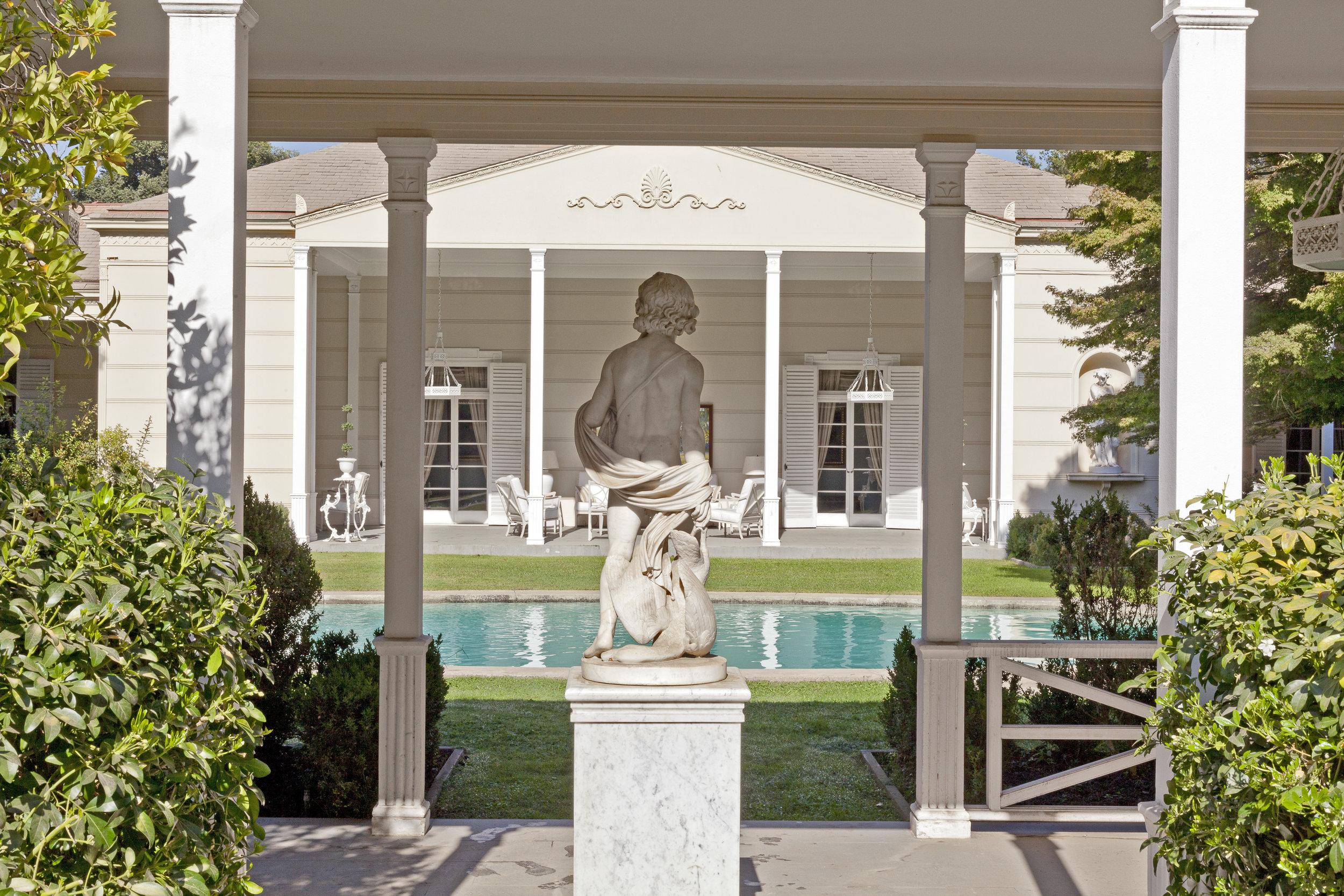 A Garden Terrace -
