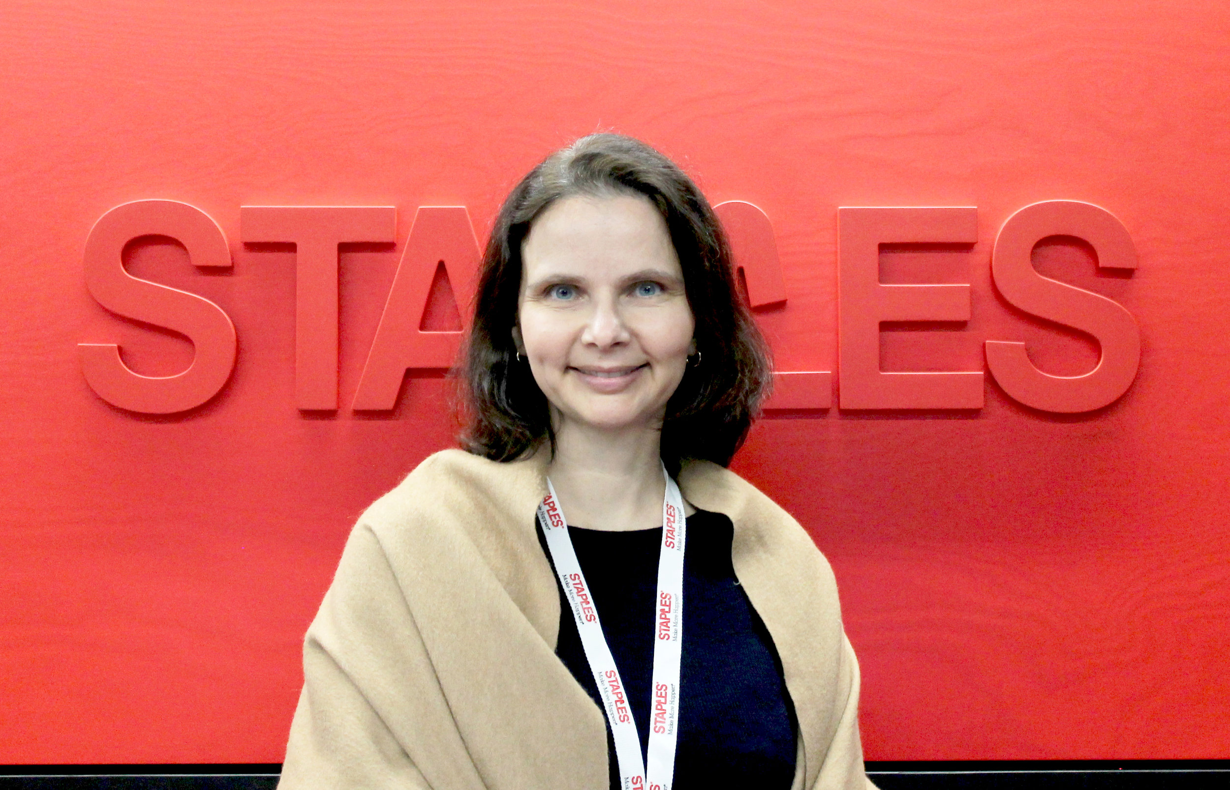 Tone Haugen-Flermoe, Communications and Marketing Manager in Staples Norway