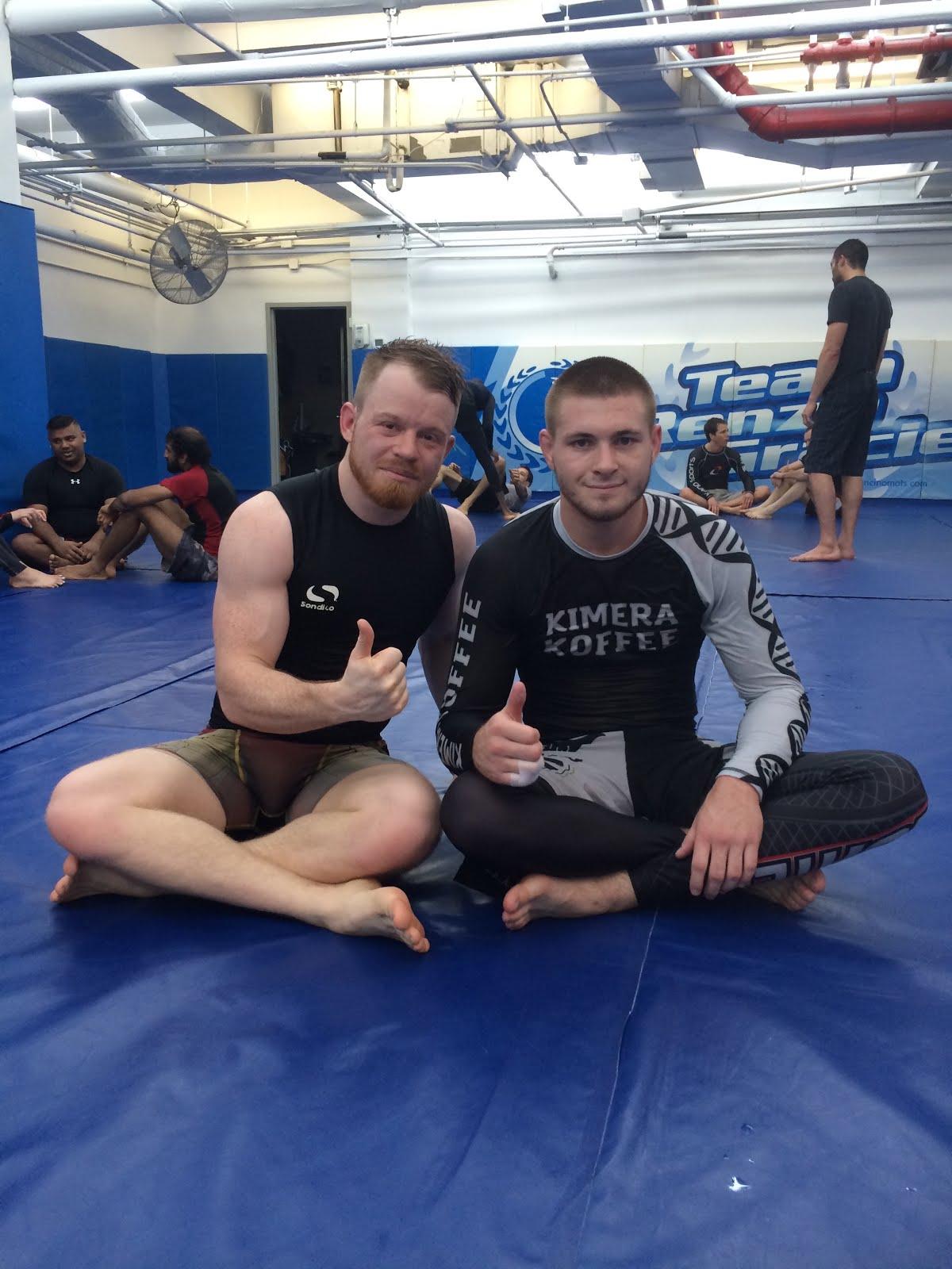 Me with EBI Champion 'King' Gordon Ryan -