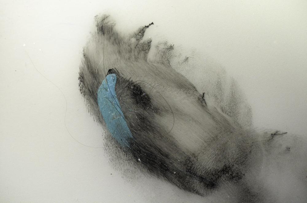 Inscripciones de la ausencia / Inscriptions of the absence' by Gabriela Lobato Ramos Medium:Painting and photography Size:60 x 40 cm Year created: 2014