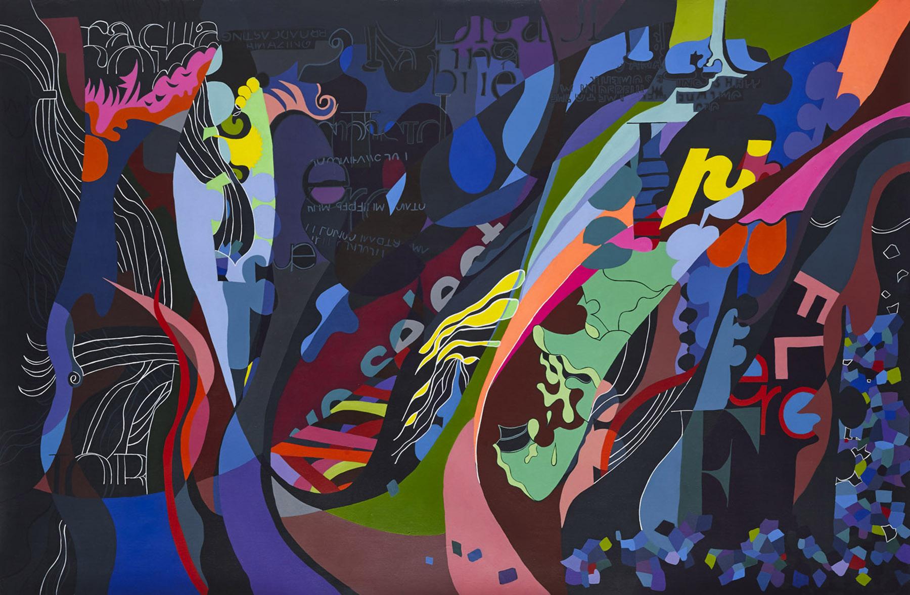'We select' Paula Nahmod Acrylic on canvas 150 x 100 cm 2013