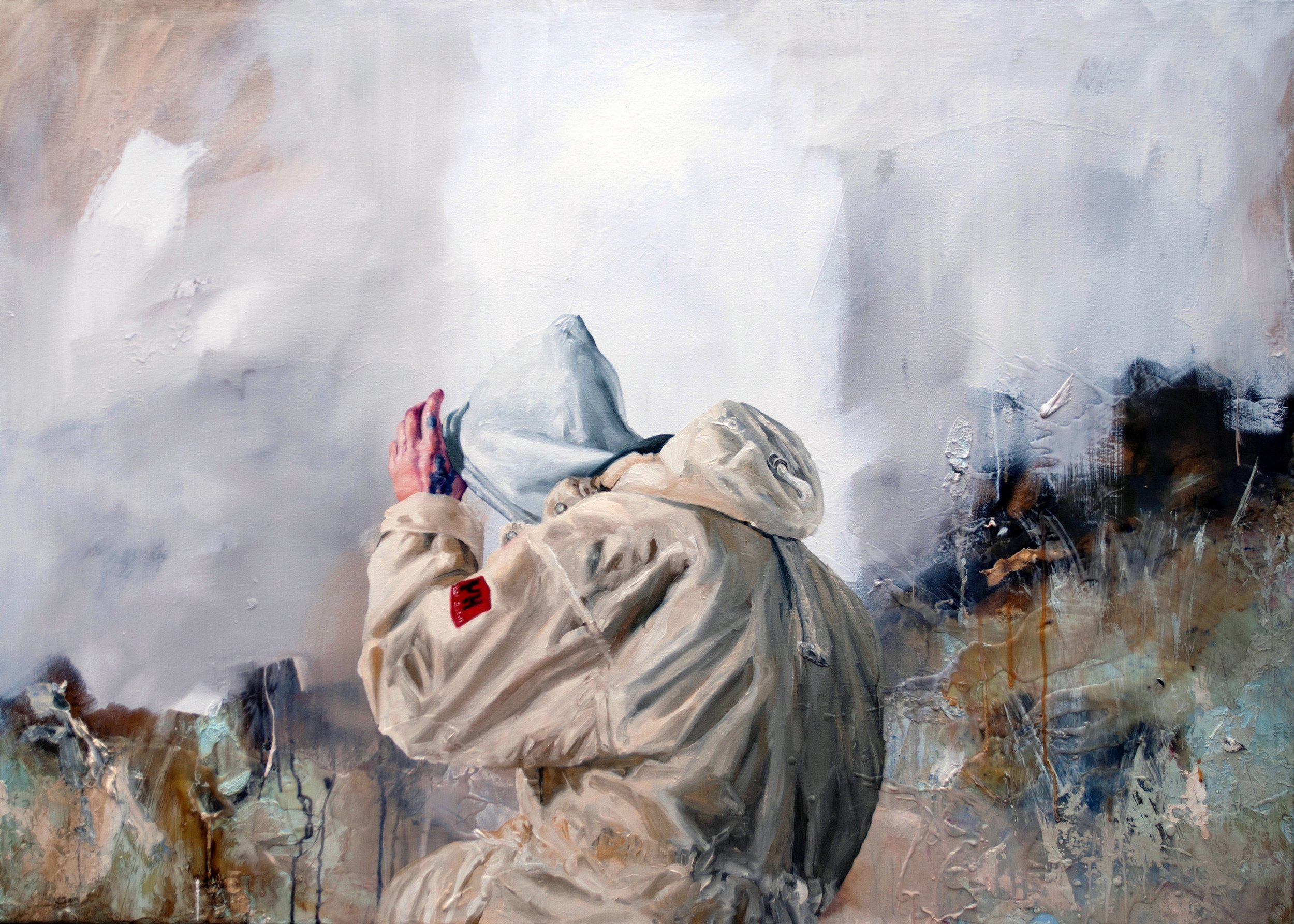 Chris Stevens, Arsenale, oil on canvas, 100 x 120 cms,  http://www.chrisstevens.co