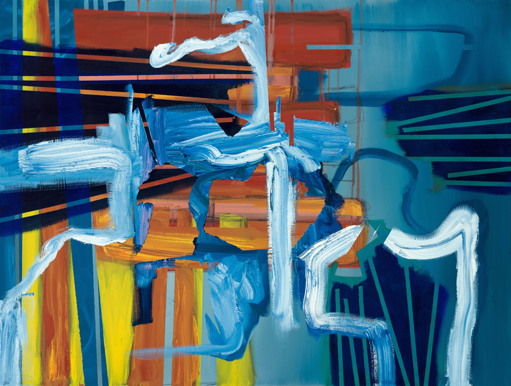 Aisling Drennan, Moving on Regardless, oil paint and charcoal on canvas, 100x70x4cm,  http://www.aislingdrennan.com