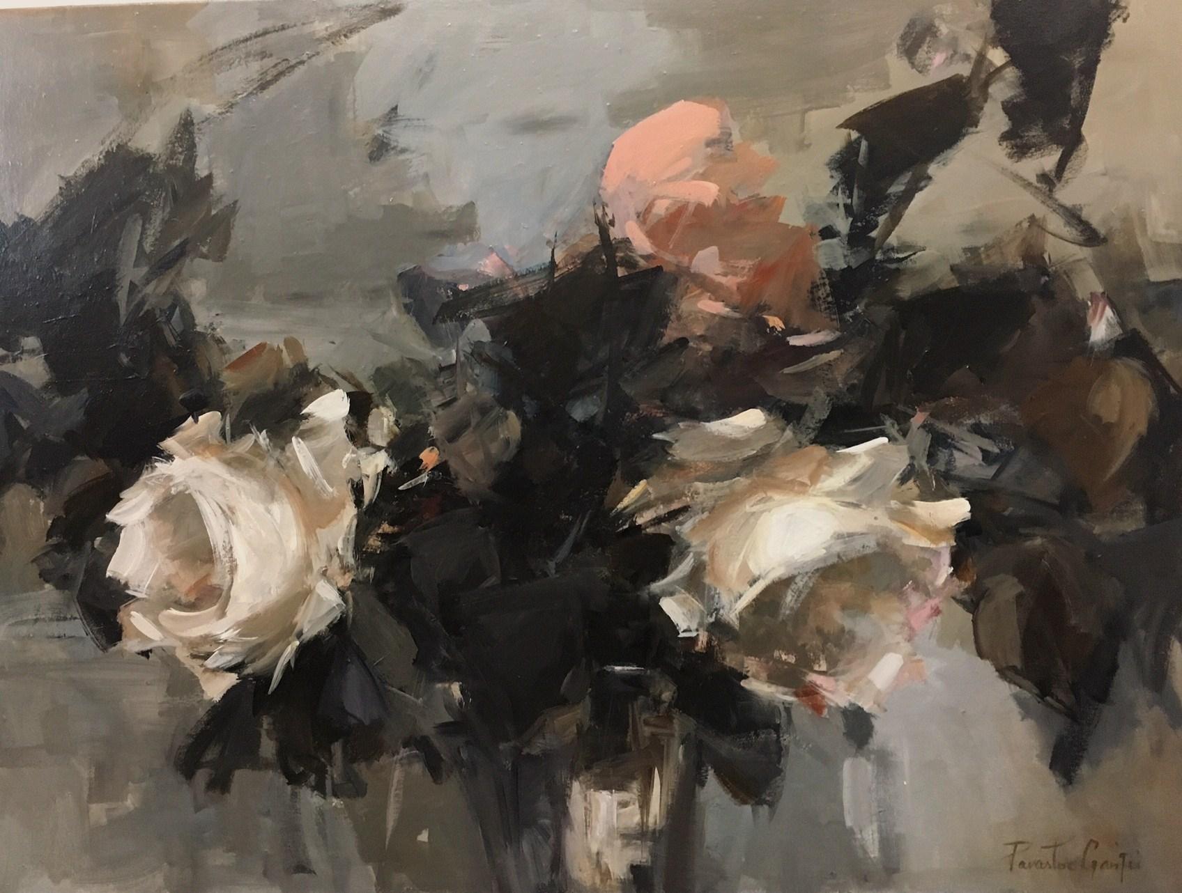 Parastoo Ganjei, Too complicated, acrylic on canvas, 101 cm x 76 cm,  http://www.parastooganjei.com