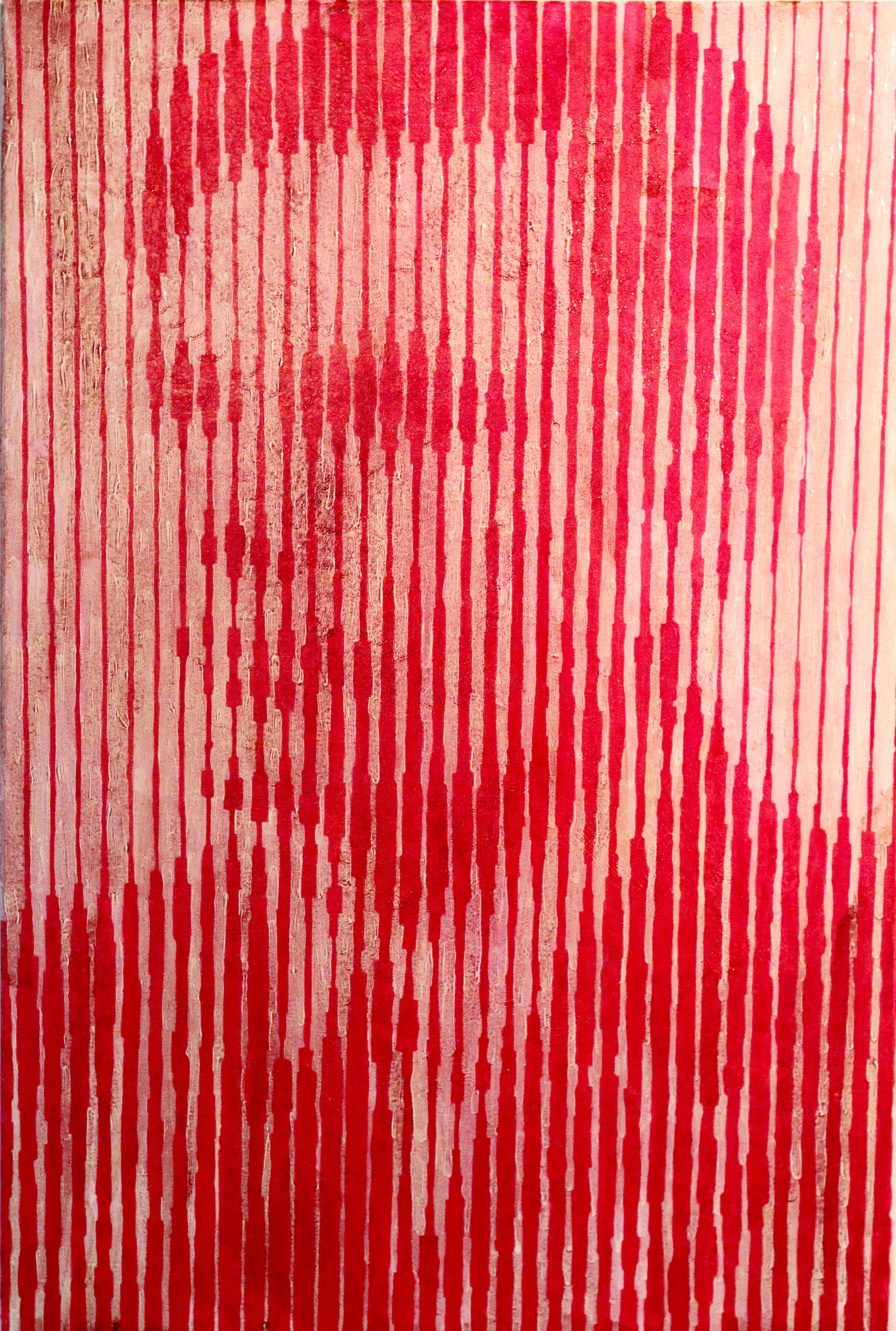 Conor Collins, Alan Turing II, Human Blood, Acrylic Paint and Ink on Canvas, 90 cm x 60 cm x 3 cm,  http://www.conartworks.com