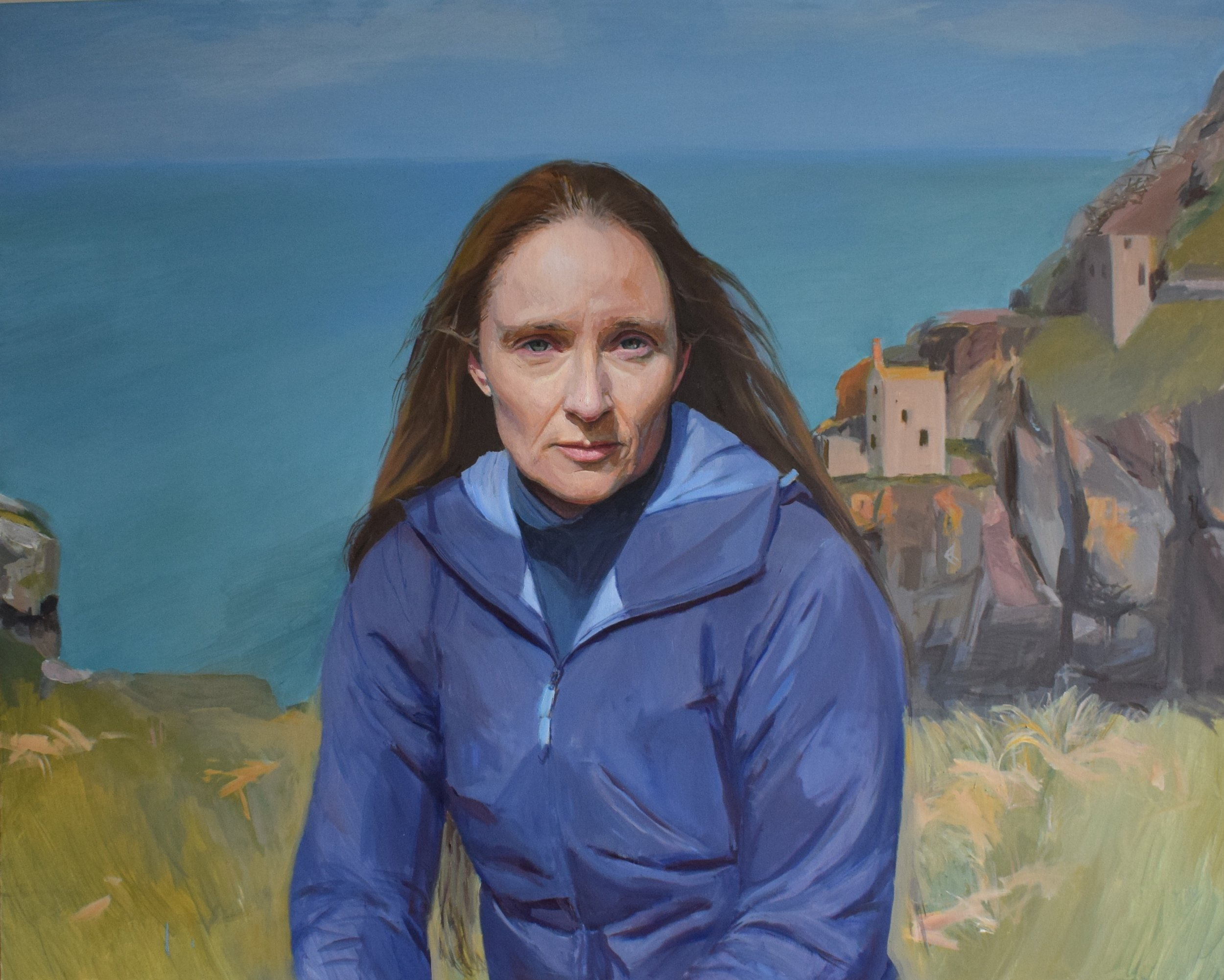 Hero Johnson, Kathryn, Oil on Canvas, 80cm x 100cm,  http://www.herojohnson.com