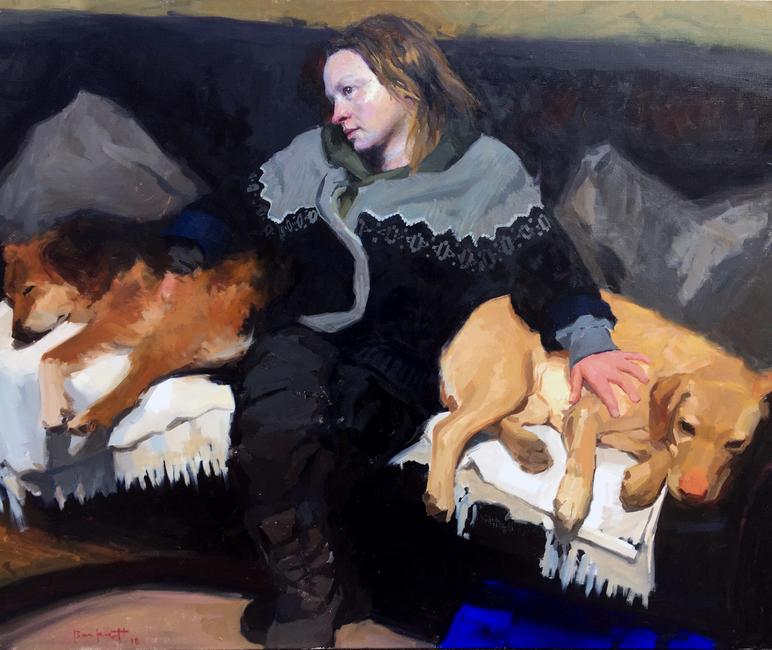 Stewart Beckett, End of the Day, Oil Paints, 76 x 101,  http://www.stewartbeckett.com